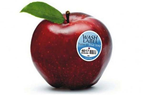 sticker label fruit