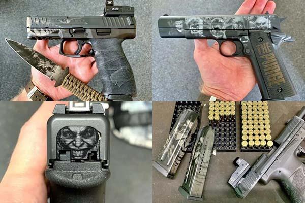 laser engraving gun